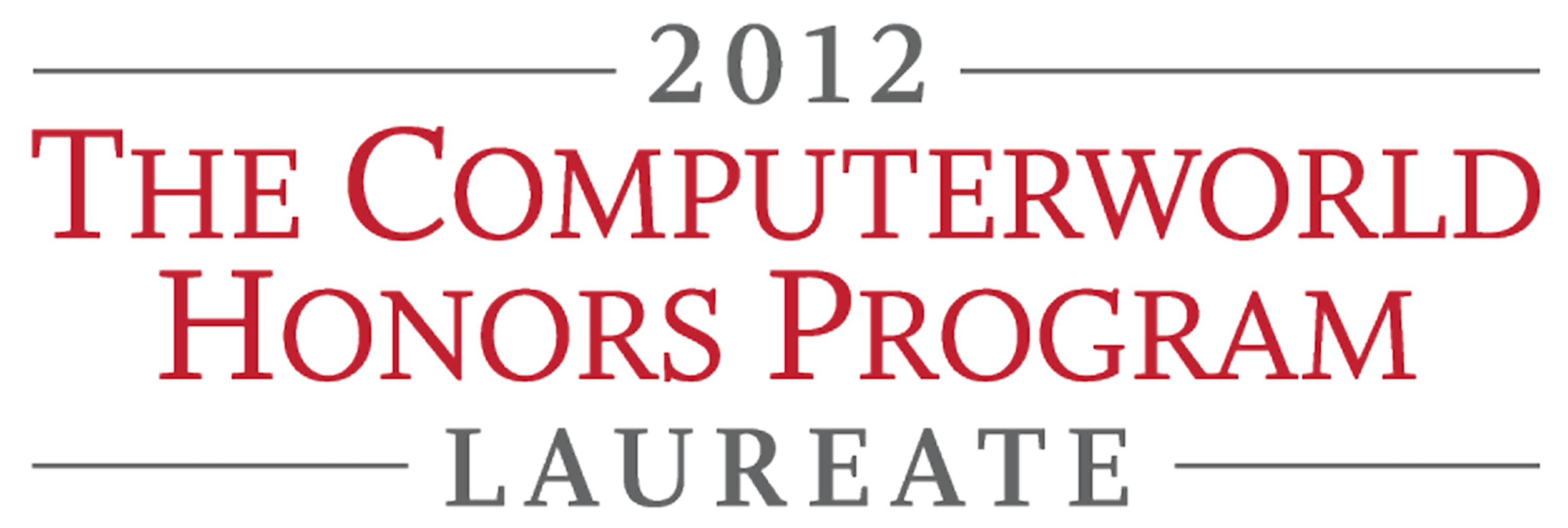 Computerworld Honors Program 2012
